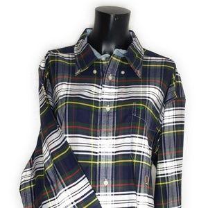 Vintage Tommy Hilfiger Plaid Shirt Button Up Pla